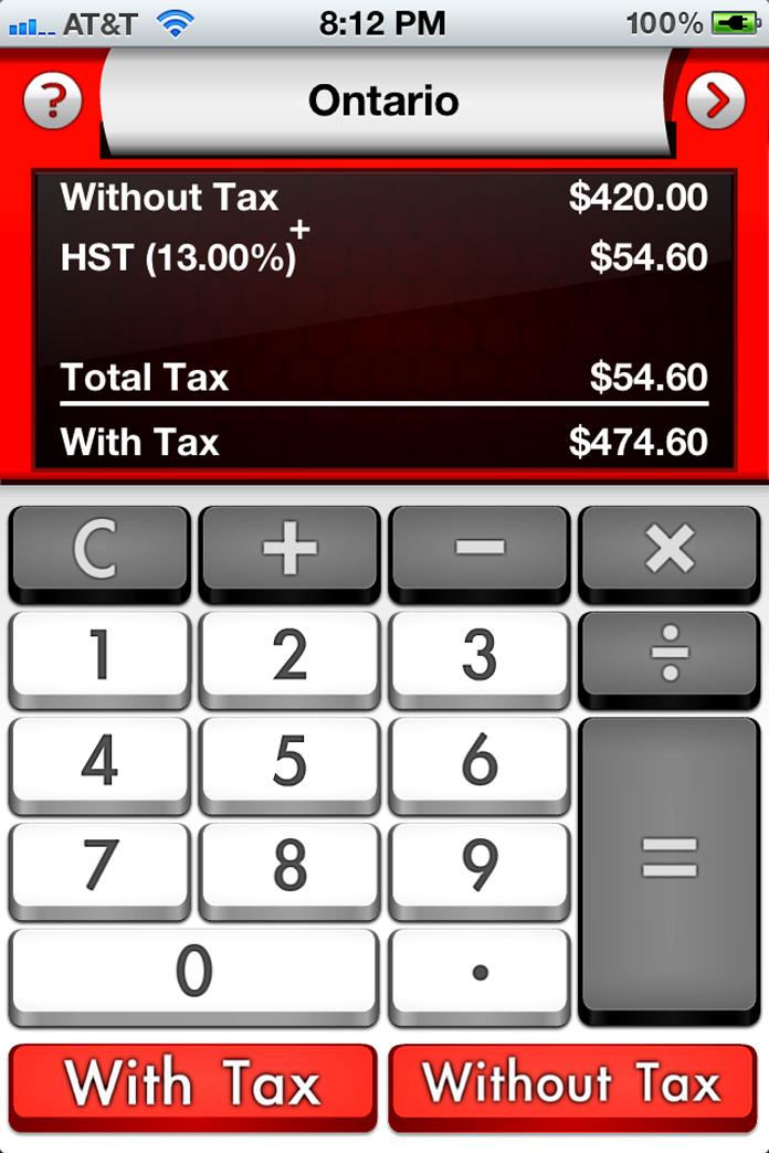 Tax Me Canada